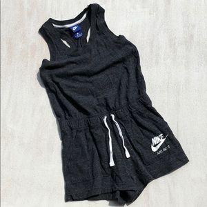 {Nike} Charcoal Lounger Romper xs